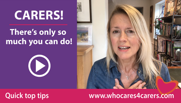 CARERS! There's only so much you can do!