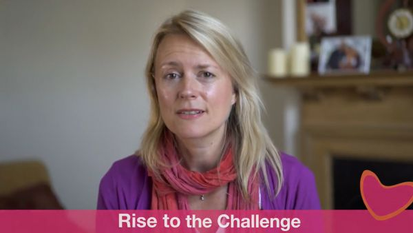 Rise to the challenge, from the Carers' Week vlog