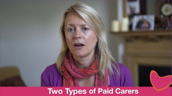Two types of paid carer